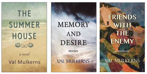 Author Val Mulkerns recent published books