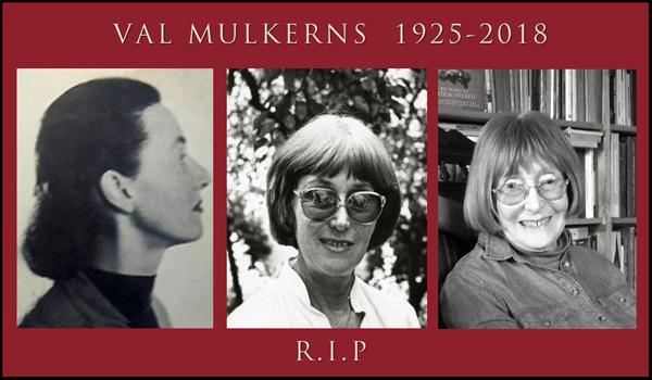 Irish Author Val Mulkerns has died